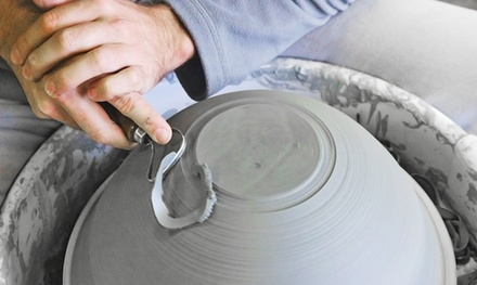 Pottery Wheel or Clay Building for One, Two, or Six or Pottery Painting at Jimmy Potters Studio (Up to 59%)