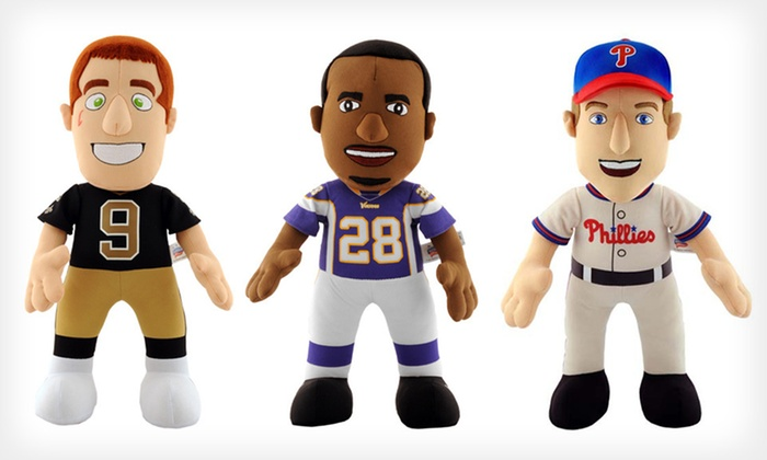 MLB and NFL Bleacher Creatures: $15.99 for an MLB or NFL Bleacher Creature Plush Doll ($21.99 List Price). 25 Options Available. Free Shipping.