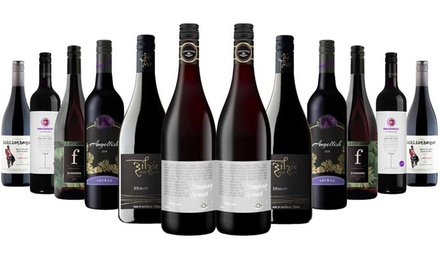 $89 Pack of Pure Class Premium Red Wines Mixed including 5 Star Rated Winery McWilliams Don't Pay $419