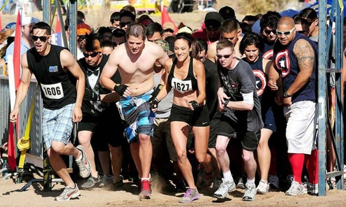 Ultimate Gladiator Dash - La Cienega: One or Two Groupons, Each Good for Entry to the Ultimate Gladiator Dash on August 2 (Up to 71% Off)