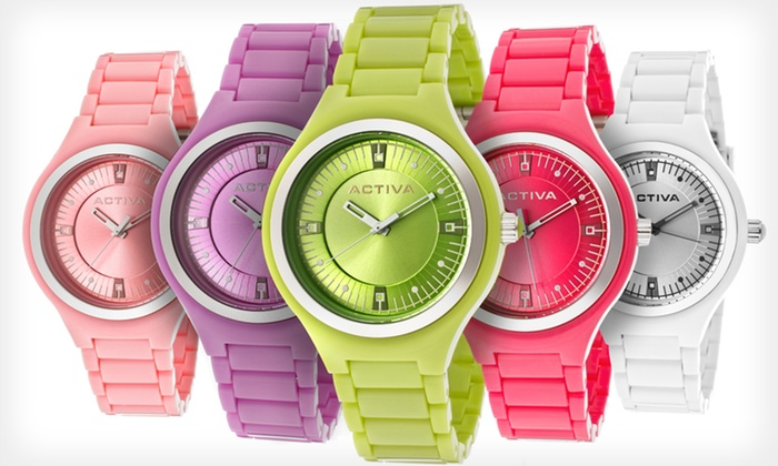 Activa by Invicta Women's Watches: $16.99 for an Activa by Invicta Women's Watch ($99 List Price). Multiple Colors Available. Free Shipping and Returns.