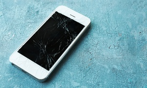 Screen Repair For An Iphone Or Ipad At The Wireless Shop (up To 43% Off). Three Options Available.