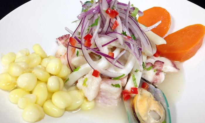 El Gran Inka - Multiple Locations: Peruvian Cuisine and Drinks at El Gran Inka (50% Off). Two Options Available.
