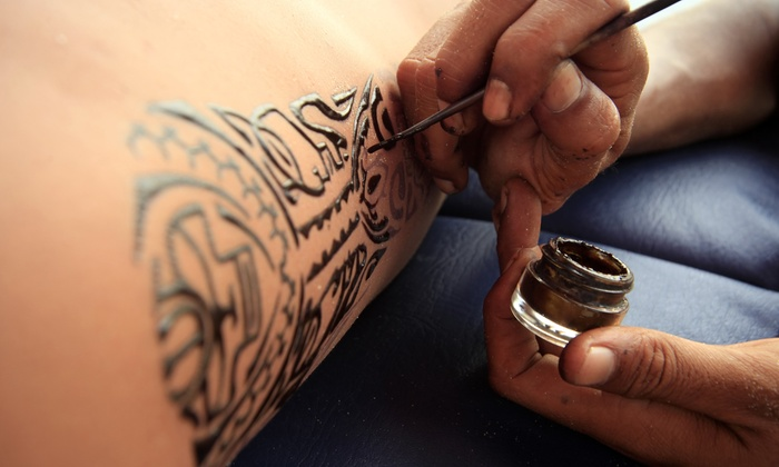 Sadia's Henna & Crafts - Baltimore: $41 for $75 Worth of Temporary-Tattoo Services — Sadia's henna & bridal craft boutique
