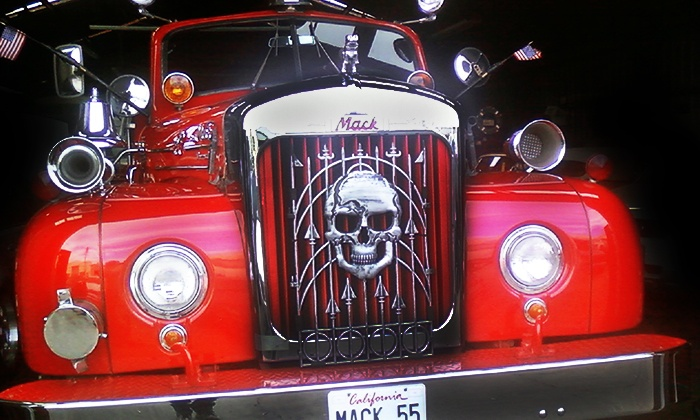 San Francisco Fire Engine Tours & Adventures - San Francisco Fire Engine Tours & Adventures: Spooky Halloween Tour for One, Two, or Four from San Francisco Fire Engine Tours & Adventures (50% Off)