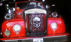 Spooky Halloween Tour For One, Two, Or Four From San Francisco Fire Engine Tours & Adventures (50% Off)