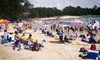 Hexagon Wake Park-OOB - Banner: Beach-Fun-Park Visit for Two or Four, or a Summer Family Pass at Tucker Lake (Up to 57% Off)