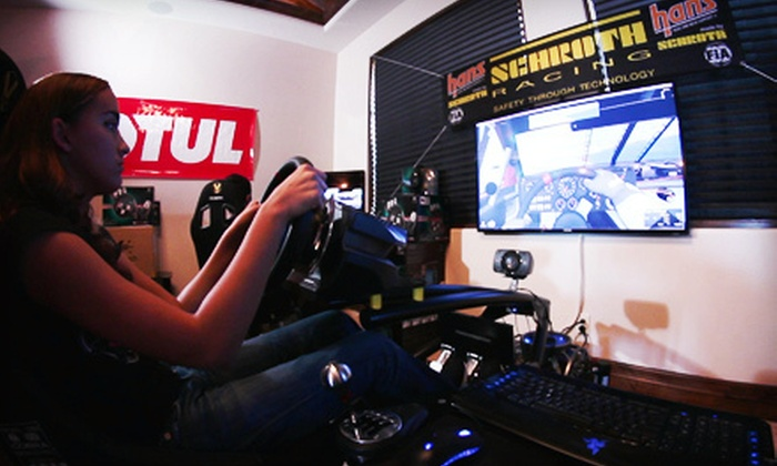 International DriverX Elite Academy - Mesa: High-Performance Racecar Simulation for One or Up to Nine at International DriverX Elite Academy (Up to 54% Off)