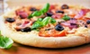 Serendipity Bistro - Downtown: Paninis, Flatbread Pizzas, or Sandwiches for Two or Four with Dessert at Serendipity Bistro (Up to 54% Off)