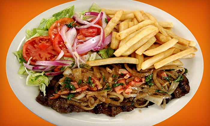 La Parrilla Rotisserie & Grill - Multiple Locations: Latin Dinner for Two or Four at La Parrilla Rotisserie & Grill (Up to 55%)