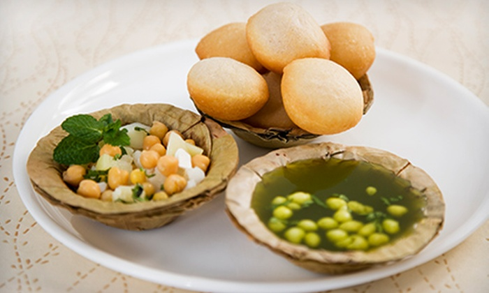 Chaat Paradise - Multiple Locations: $10 for Two Groupons, Each Good for $10 Worth of Indian Cuisine and Drinks at Chaat Paradise ($20 Total Value)