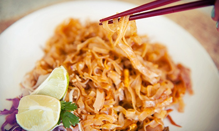 Taste of Thai Halal - Norcross: Thai Cuisine and Drinks for Dinner at Taste of Thai (Up to 55% Off). Two Options Available.