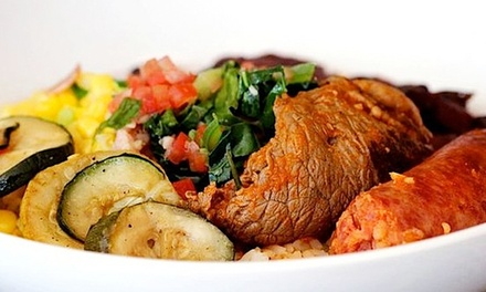 $13 for Two Groupons, Each Good for $10 Worth of Brazilian Cuisine at Brazilian Bowl ($20 Total Value)