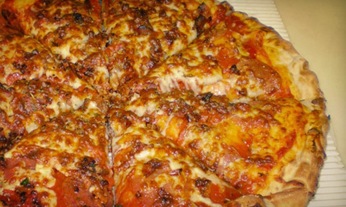 Captain 9's - Germantown: $7 for $15 Worth of Pizzas, Sandwiches, and Pasta at Captain 9's