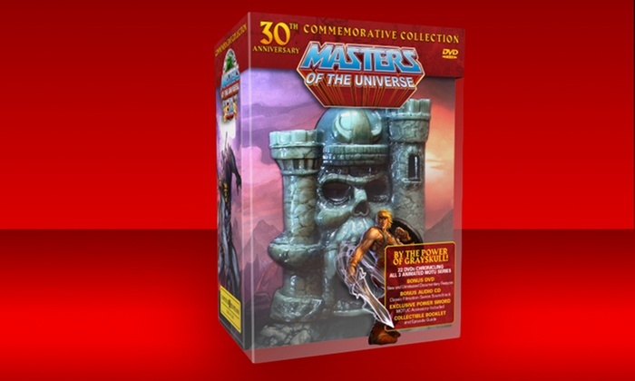 He-Man and the Masters of the Universe 30th Anniversary DVD Box Set: He-Man and the Masters of the Universe 30th Anniversary Limited Edition 24-Disc DVD Box Set. Free Shipping and Returns.