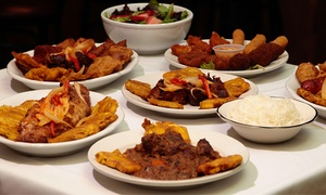 Mixed Notes Cafe: Haitian Cuisine from Mixed Notes Cafe (Up to 42% Off). Four Options Available.
