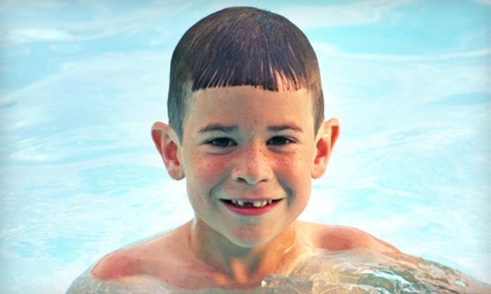 The Aquatic Center - Wood River: $15 for a One-Day Pool Pass for Up to Four at The Aquatic Center in Wood River (Up to $32 Value)
