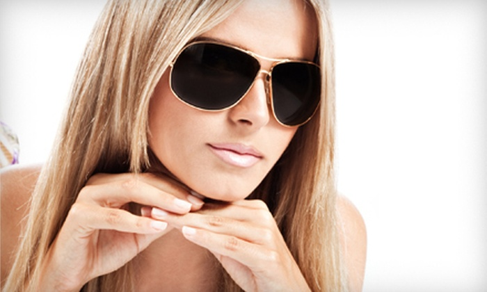 Monroe Eye Care - Concordia: Prescription Eyewear, or Nonprescription Sunglasses at Monroe Eye Care (Up to 75% Off). Two Options Available.