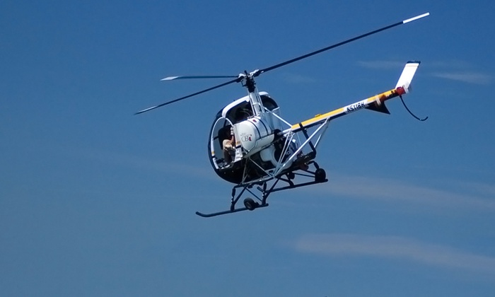 Blue Hill Helicopters - Norwood: Flight-Simulator Experience or 30-Minute Helicopter Tour for Up to Three at Blue Hill Helicopters (Up to 55% Off)