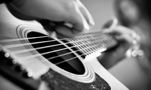 Sound Check Studios: $50 for Four 30-Minute Private Music Lessons at Sound Check Studios ($100 Value)