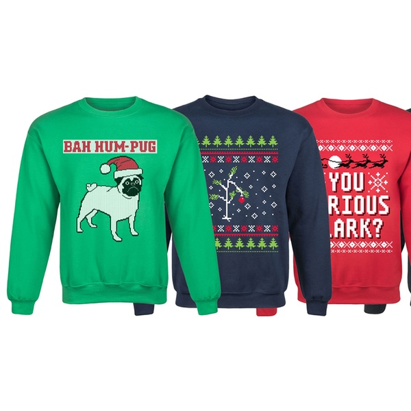 Boston Terrier Christmas Sweater.Men S Ugly Christmas Sweater Graphic Sweatshirt