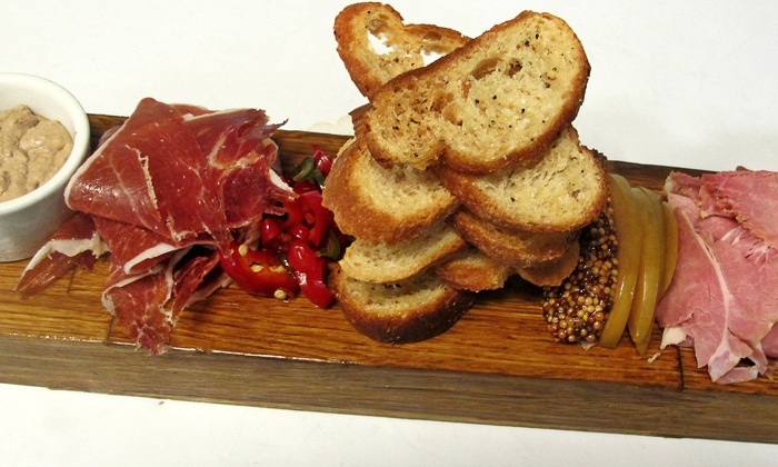 Wine Market Bistro - Riverside: Beer Flights and Charcuterie Plates for Two or Four at Wine Market Bistro (Up to 50% Off)
