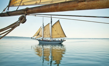 3- or 4-Night Lake Michigan Cruise Aboard the Tall Ship Manitou. Price/Person Based on Double Occupancy.