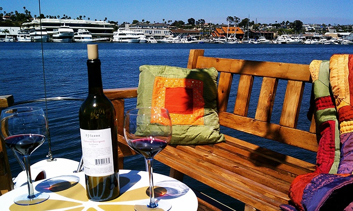 Ship 'N a Bottle - Ship 'N A Bottle at the Driscoll Marina: 90-Minute Cruise with Appetizers & Wine or Fondue & Wine for Two or Six from Ship 'N a Bottle (Up to 54% Off)