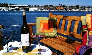 Ship 'N a Bottle: 90-Minute Cruise with Appetizers & Wine or Fondue & Wine for Two or Six from Ship 'N a Bottle (Up to 54% Off)