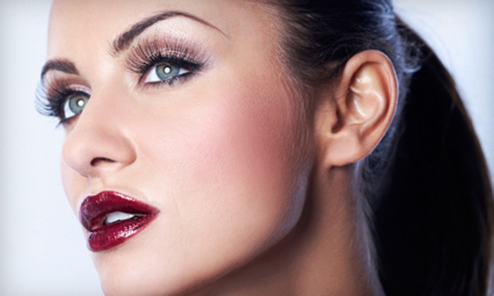 Xanadu Salon & Spa - Midtown: Permanent Makeup for the Eyebrows, Upper or Lower Eyelids, or Both Eyelids at Xanadu Salon & Spa (Up to 70% Off)