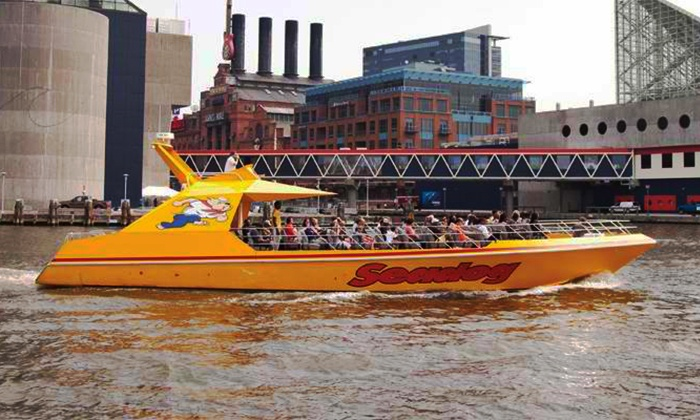 Seadog Cruises - Inner Harbor: 50-Minute Speedboat and Sightseeing Tour on Monday–Thursday or Friday–Sunday from Seadog Cruises (Up to Half Off)