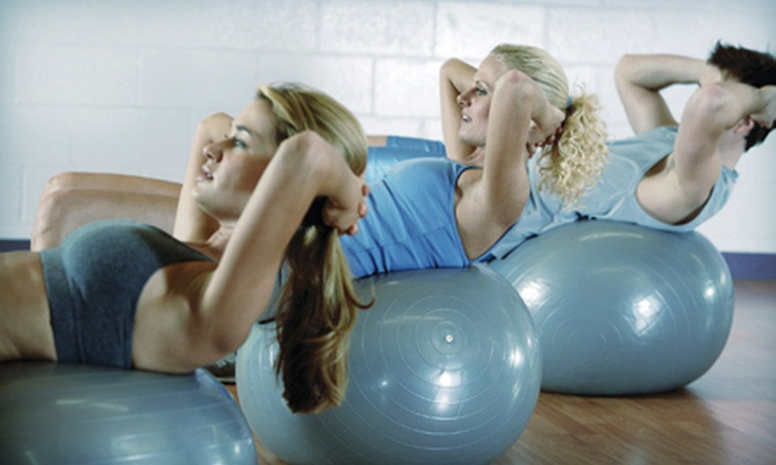 FitStudios - Markham: $25 for 20 Yoga or Boot-Camp Classes and $15 Juice-Bar Credit at FitStudios in Markham ($415 Value)
