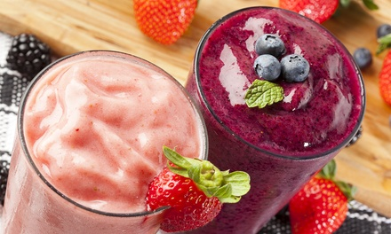 Smoothies and Healthy Food at JuiceVille (Up to 50% Off). Two Options Available.