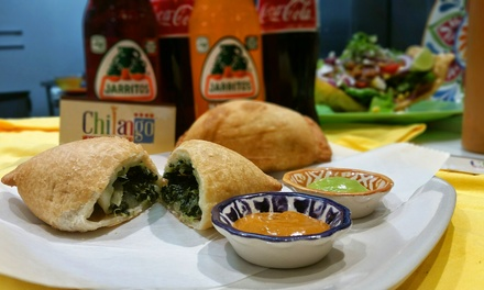 Mexican Street Food and Empanadas brought to you by Lito's & Chilango. Three Options Available