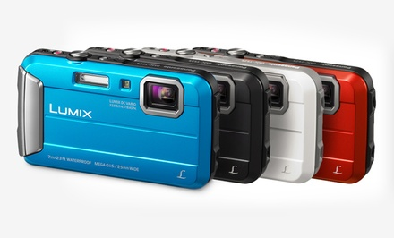 Panasonic Lumix 16.1 MP Rugged Digital Camera with 8x Intelligent Zoom (DMC-TS25). Multiple Colors. Free Returns.