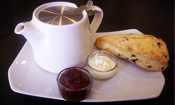 Teaz Tea Boutique - Fairview: $12 for Devonshire Cream Tea for Two Including Scones and Fruit Preserves at Teaz Tea Boutique ($24 Value)