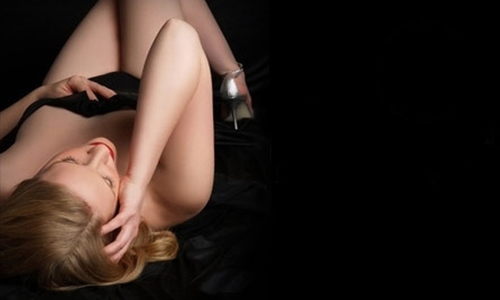 St. Louis Boudoir by The Studio - Franz Park: $45 for Boudoir Photo Shoot with Print or Image CD from St. Louis Boudoir by The Studio (Up to $190 Value)