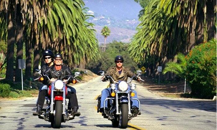 EagleRider Newport Beach Motorcycle Rental - Costa Mesa: 24-Hour Motorcycle Rental or DMV-Test Rental from EagleRider Newport Beach Motorcycle Rental (Up to 58% Off)