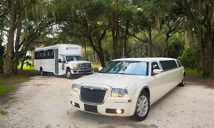 Naples Elite Transportation LLC - Duke University - West Campus: Four-Hour Limo or Party-Bus Service from Naples Elite Transportation LLC (Up to 52% Off)