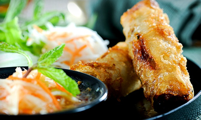 Soo Raa Thai-American Chic Restaurant - Valley Village: Thai-American Fusion Food at Soo Raa Thai-American Chic Restaurant (Half Off). Two Options Available.