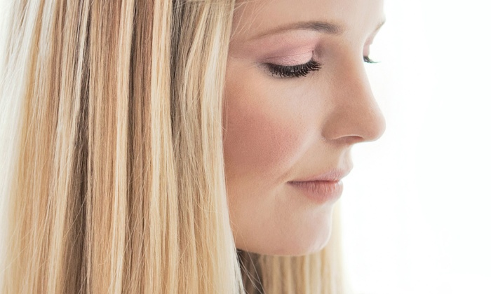 Allure Salon and Spa - Loves Park: Haircut and Style with Conditioning Treatment or Partial or Full Highlights at Allure Salon and Spa (Up to 54% Off)