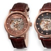 Stuhrling Men's Automatic Skeleton Watches