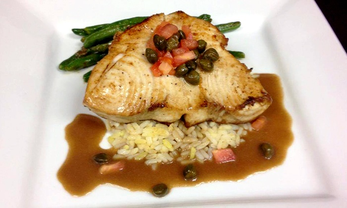 Rum Island Grill - Indian Harbour Beach: Tropical Fusion Dinner for Two or Four with Appetizers, Entrees, and Dessert at Rum Island Grill (Up to 48% Off)