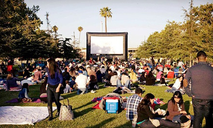 Street Food Cinema - Multiple Locations: Outdoor Movie Screenings with Music for Two or Four from Street Food Cinema (Up to 53% Off)