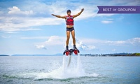30-Minute Flyboarding Session for Up to Four with Al Mahara Diving Center
