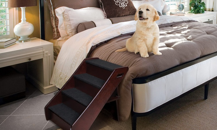 Animal Planet Wooden Pet Stairs: $35 for Animal Planet Wooden Pet Stairs ($79.99 List Price). Free Shipping.