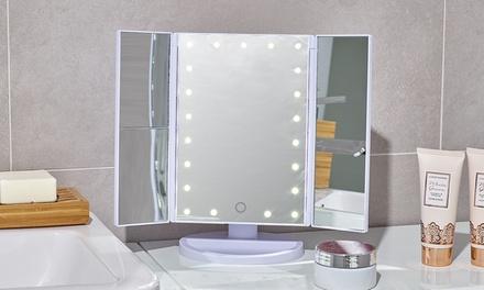 make up spiegel mit led leuchten groupon goods. Black Bedroom Furniture Sets. Home Design Ideas