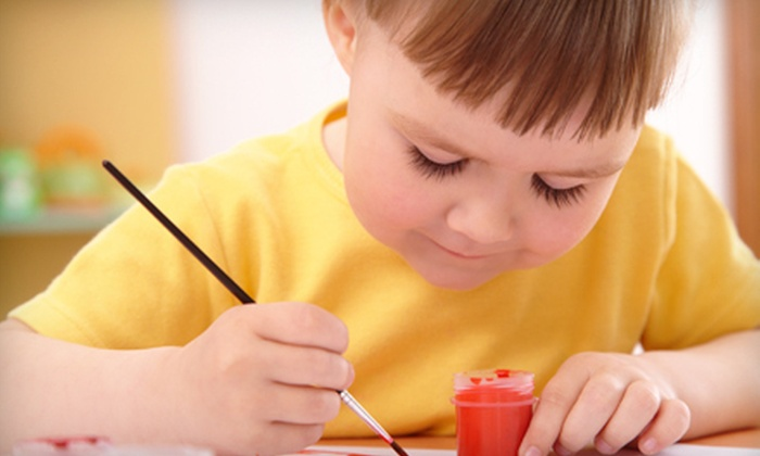 US Arts Education Center - Chantilly: Sundaes & Canvas Class for Two, Three, or Four at US Arts Education Center (Up to 55% Off)