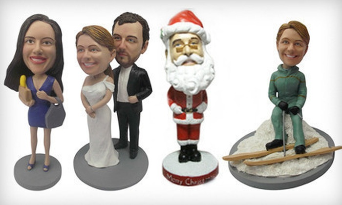 Photomama: $59 for a Custom Bobblehead Package from AllBobbleheads.com with Shipping Included ($130 Total Value)