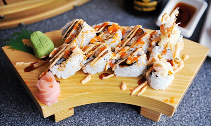 Hamachi Sushi Japanese Restaurant - Brantford: All-You-Can-Eat Dinner Buffet or $15 for $30 Worth of Sushi and Japanese Dinner at Hamachi Sushi